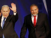 Netanjahu, Lieberman