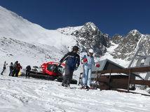 vysoké tatry, lyžovanie, lyžovačka, zima, turisti