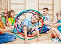 deti, cvičenie, telesná výchova, pohyb