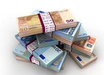 Euro, peniaze, bankovky, ekonomika, eurofondy