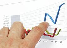 Ekonomika, peniaze, graf
