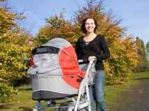 prechádzka, dieťa, materská dovolenka