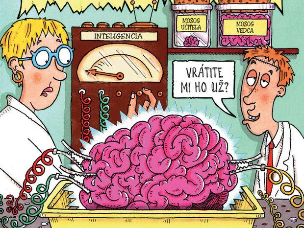 Nick Arnold - Príšerná  veda - Miliónový mozog