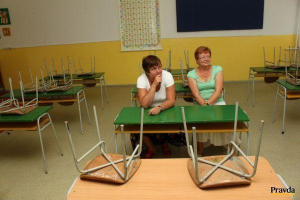 Každý pedagogický zamestnanec sa na štrajku zúčastňuje ako jednotlivec.
