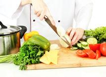 zelenina, krájanie, strava, kuchyňa
