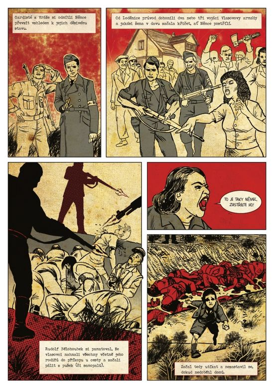 Slovenské výtvarníci sa s komiksom presadzujú aj v zahraničí. Martin Plško kreslil do českej knihy Ješte jsme ve válce.