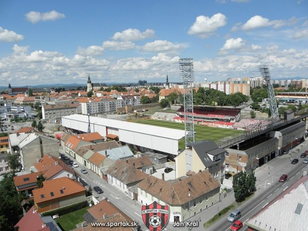 Spartak, štadión