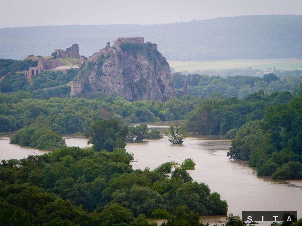 Devín, Morava, povodne, záplavy