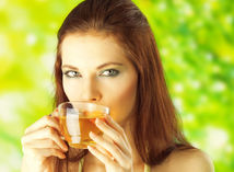bylinný čaj - prostriedok proti aftám