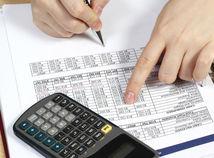 Kalkulačka, ekonomika, graf, dane