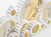 Euro, peniaze, graf, ekonomika