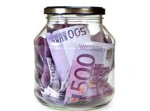 Peniaze, euro, 500, ekonomika, graf