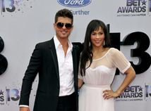 Robin Thicke a jeho manželka - herečka Paula Patton