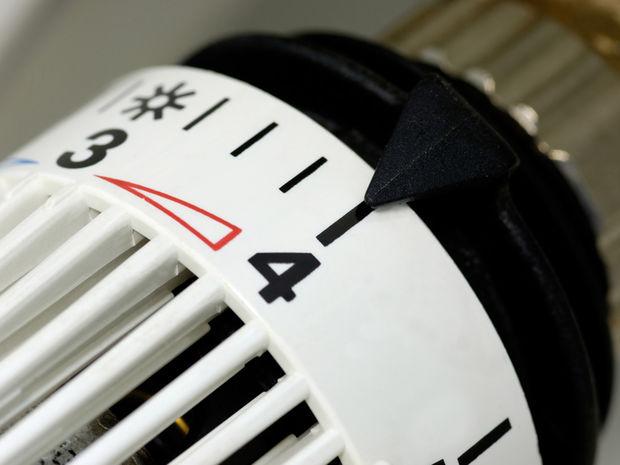 Radiátor, merač, teplo, bývanie