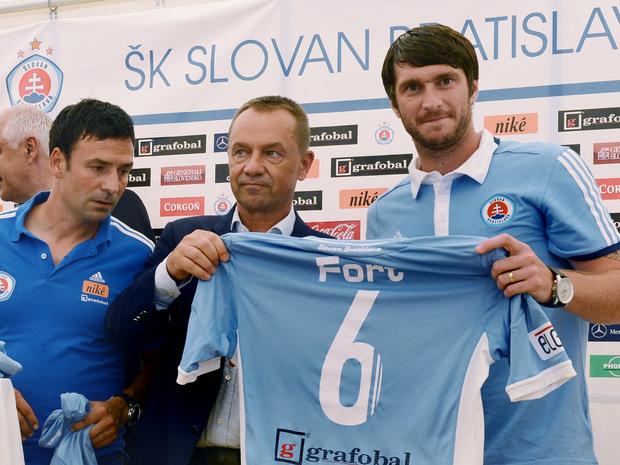 Pavel Fort Fot si v Slovane nedva streleck cie Fortuna liga