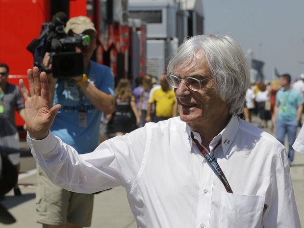 Veľká cena Maďarska F1, Bernie Ecclestone
