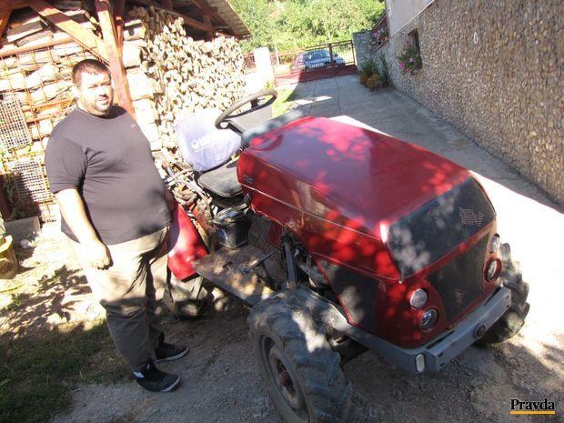 traktor, kiššmon, skladačka