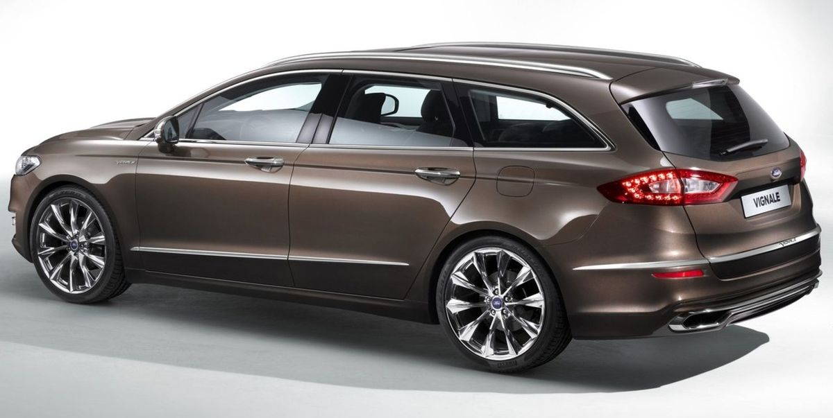 Novy Ford Mondeo Ford Mondeo Vignale Concept