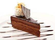 dezert, čokoládová torta, sladkosti