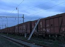 vlak, železnice, vagón
