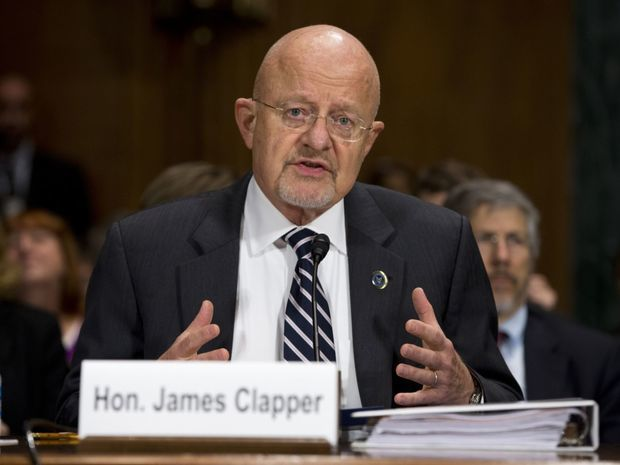 James Clapper, rozviedky, tajné služby, USA