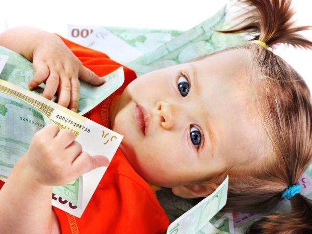 dieťa, rodičovský, príspevok, peniaze