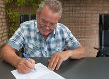 závet, dedičstvo, zmluva, podpis