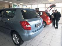 auto, automobil, predaj, showroom, fabia