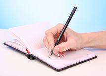 písať, písať list,