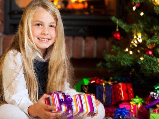 vánoce, dárky, atmosféra, radost