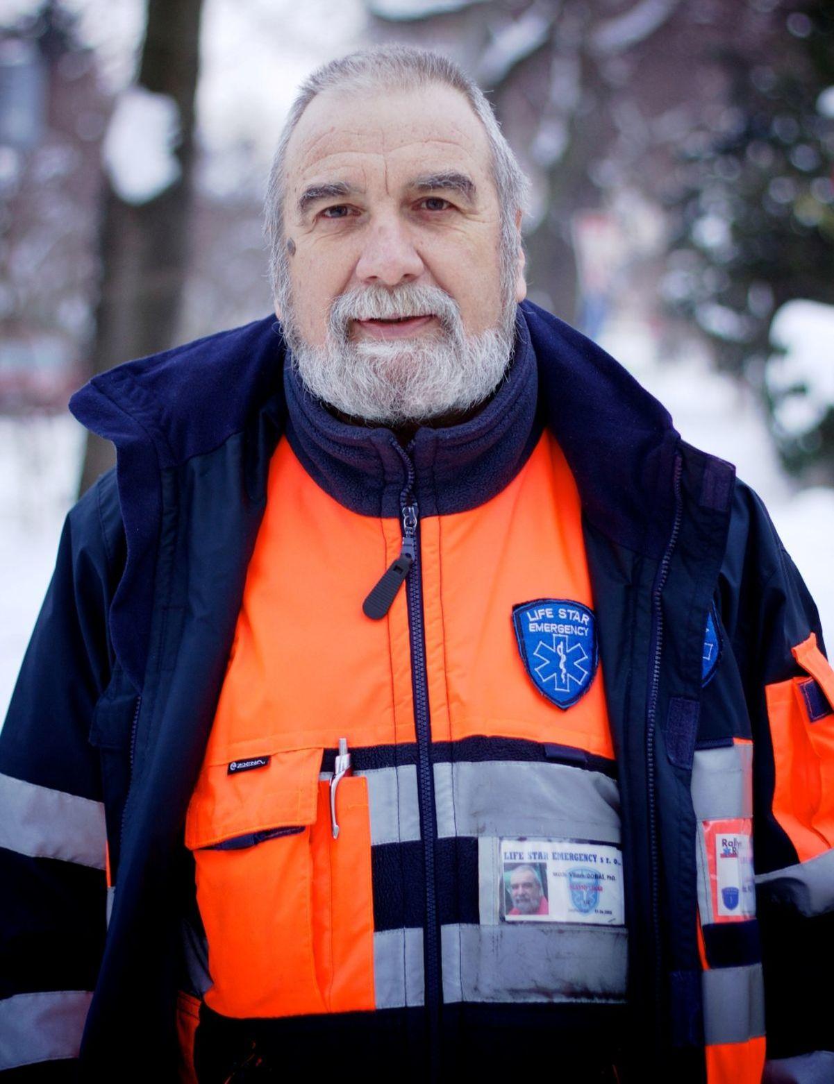 Špecialista na urgentnú medicínu doc. MUDr. Viliam Dobiáš, PhD.