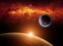 Mars, vesmír, planéta