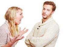 muž a žena, hádka