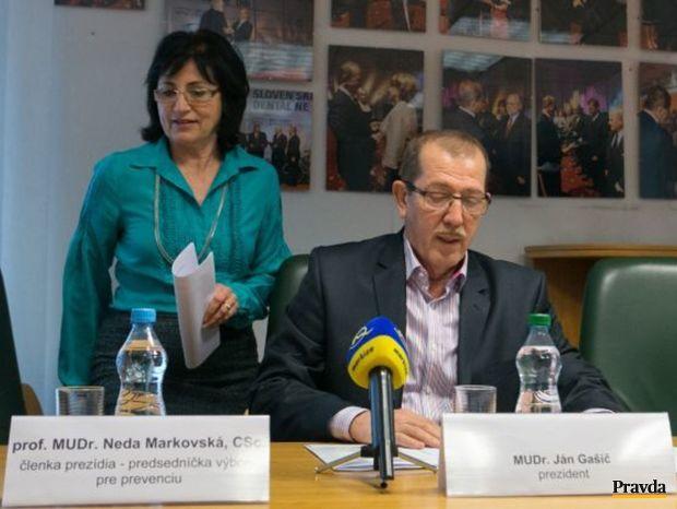 Neda Makarovská, Ján Gašič