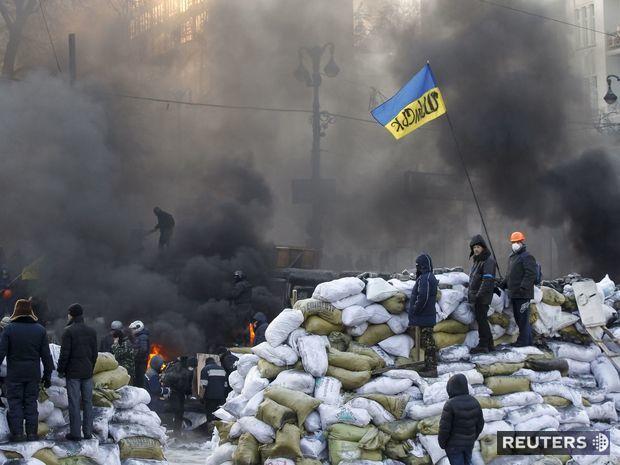 Kyjev vonia slobodou. nedá sa však vylúčiť občianska vojna