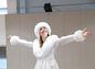 Kostým Snehovej kráľovnej Nátalii Šlepeckej mimoriadne pristal.