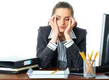 syndróm vyhorenia, unavená žena, prepracovaná žena