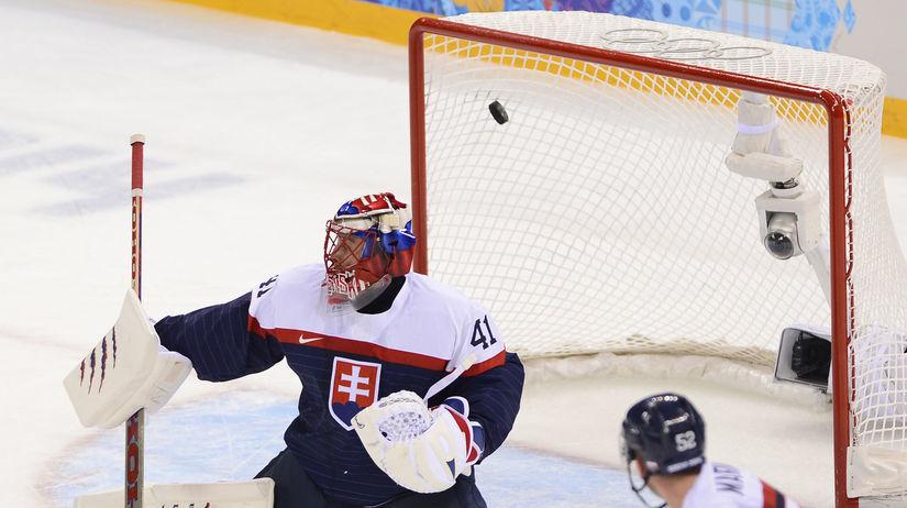 7777b75340e26 Katastrofálny vstup do turnaja. Slováci podľahli USA zahanbujúco 1:7 - ZOH  2014 - Soči - Šport - Pravda.sk