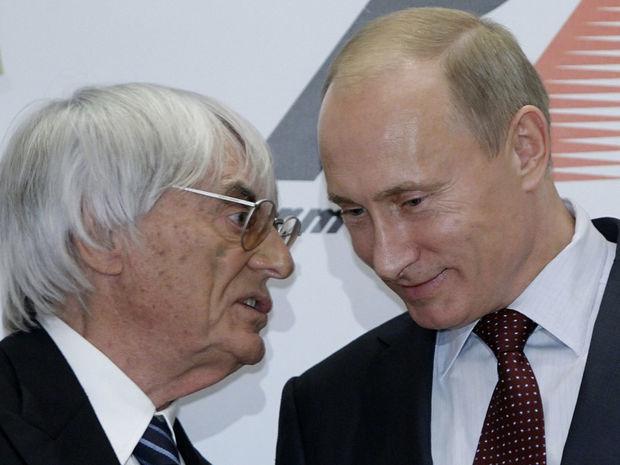 Bernie Ecclestone, Vladimir Putin