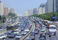Peking, Čína, zápcha