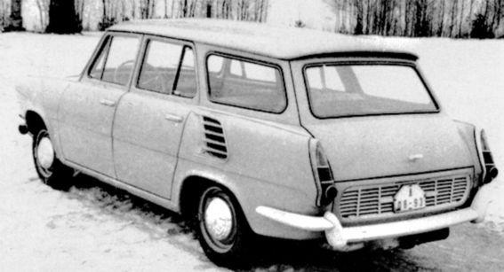 Podobný osud malo aj kombi Station Wagon. Motor uložený naležato, vďaka ktorému sa podarilo znížiť podlahu  kufra, mal veľké problémy s chladením a mazaním.