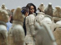 Michelle Obama, Čína, terakotoví bojovníci