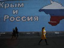 Ukrajina, kríza, Krym, mapa