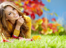 šťastná žena