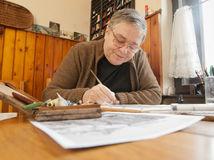 Martin Činovský, maliar, poštové známky, prezidenti