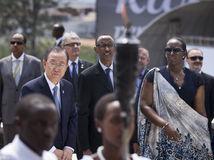 Rwanda, genocída, výročie, prezident Paul Kagame, Pan Ki-mun, OSN,