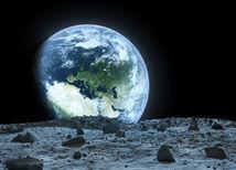 mesiac, zem