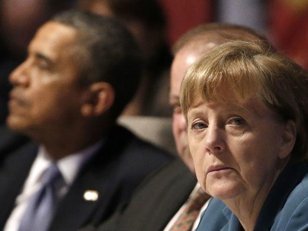 Barack Obama, Angela Merkelová