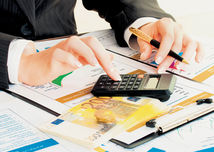 kalkulačka, graf, ekonomika