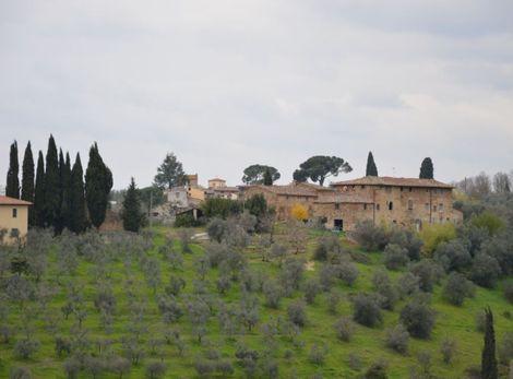 Kto nemá záujem o mestský nočný život, pre toho bude ideálnou voľbou toskánska vidiecka usadlosť.